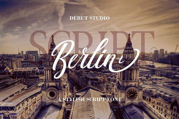 Berlin Script Great Serif