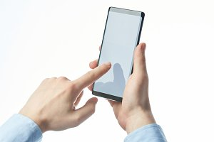 Making touch or swipe smartphone