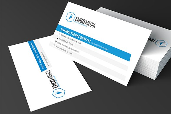 Creative Corporate Business Card 10 Templates Market