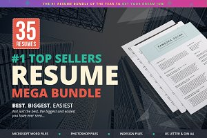 Top Sellers Resume Mega Bundle