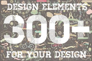 Design elements big set