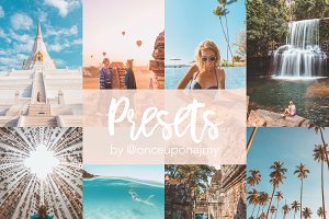 Lightroom Presets by @onceuponajrny