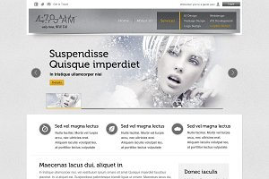 4:79 AM Website Template