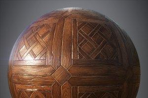 Hardwood parquet
