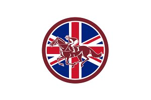 British Jockey Horse Racing Union Ja