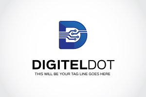 Digitel Dot Logo Template