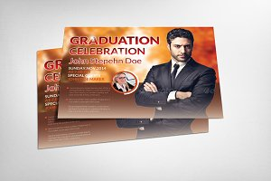 Pastor's Graduation Ceremony Flyer