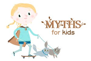 Myths for kids: Freya