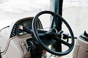 Steering wheel and the controls