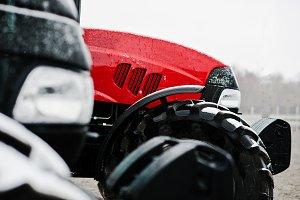 headlight  new tractor