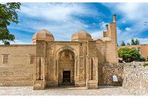 Magoki-Attori mosque in the old town of Bukhara, Uzbekistan