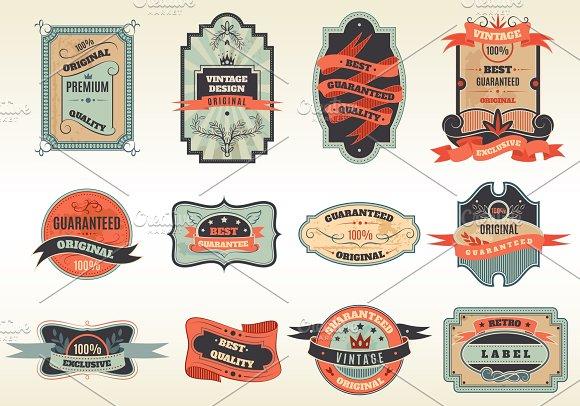 Original Retro Best Choice Emblems