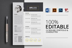 Clean Word CV Resume