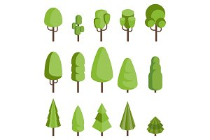 isometric trees set