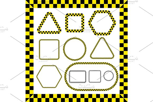 Taxi Frames Set