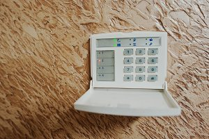 Keypad for access control at home