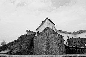 Castle Palanok in Mukachevo