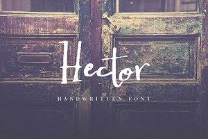 Hector Handwritten Font