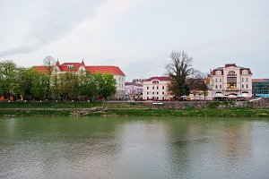 View of the river Uzh