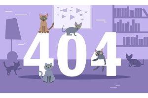 Error 404 cats