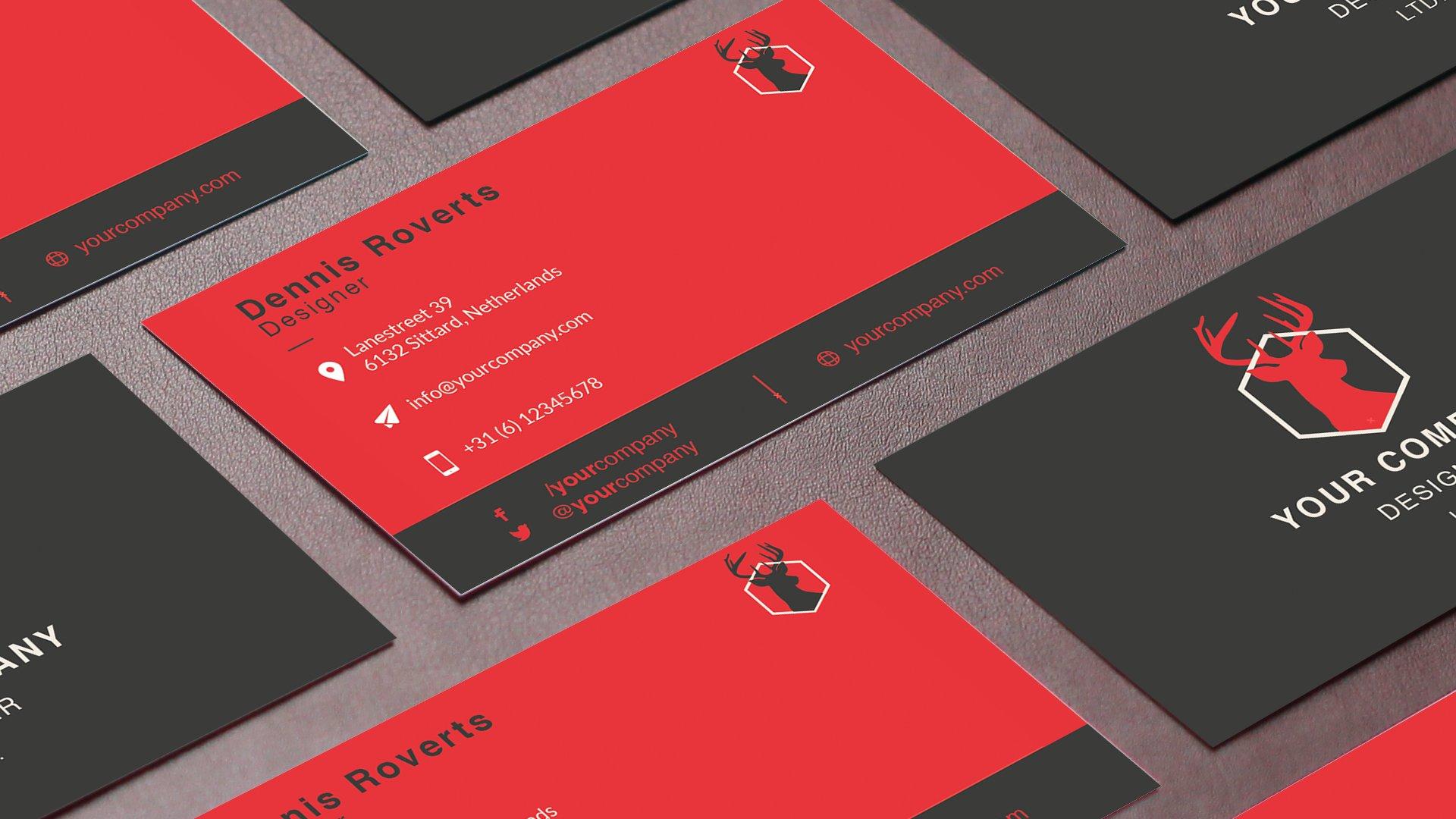 Eu clean business card template templates creative market eu clean business card template templates creative market reheart Gallery