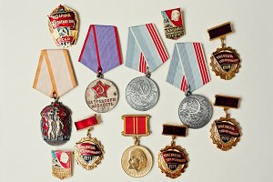 different soviet medals