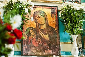 icon of the Mother of God Mary