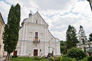 White stone catholic church