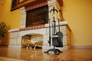 Fireplace accessories tools