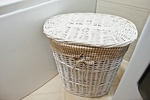 basket for dirty clothes