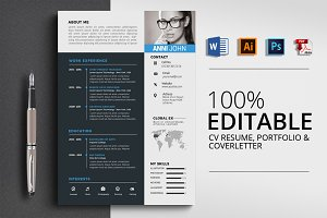 Professional Resume CV Word