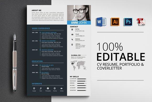 Professional Resume CV Word