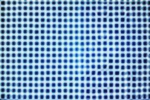 Blue illumination bokeh texture background