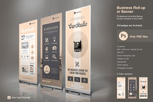 Business Roll-Up Vol. 6 PSD