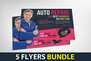 5 Multipurpose Business Flyers
