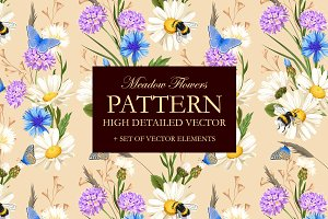 Meadow Flowers Pattern
