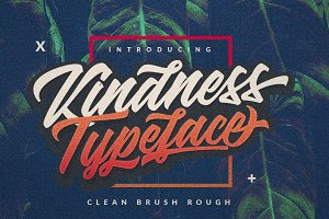 Kindness Typeface - 3 Version Style