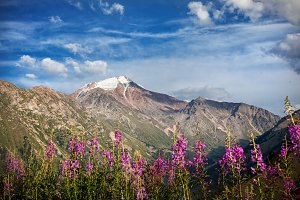 Mountains in Kazakhstan