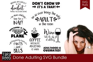 Done Adulting SVG Bundle