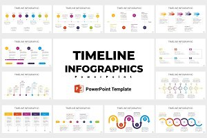 Timeline infographics PowerPoint