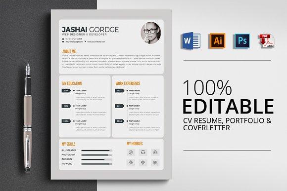 Office Word CV Resume