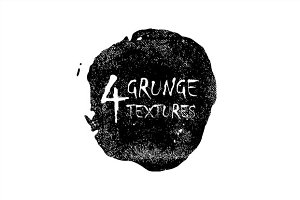 4 grunge texture