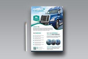 Transport Business Flyer