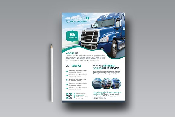 Transport Business Flyer