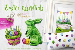 Easter Essentials - Watercolour Set