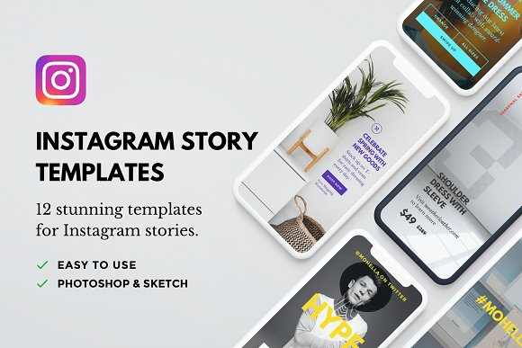 Air: 12 Instagram Story Templates