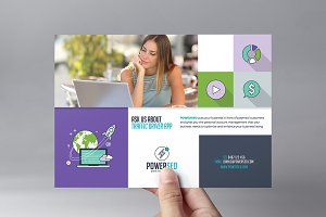 SEO Agency Flyer Template