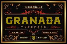 Granada Typeface