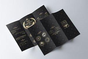 Sicenrial Elegant Tri-fold Brochure
