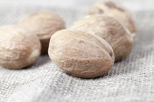 few fragrant nutmeg,